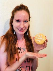 Stephie mit Keks